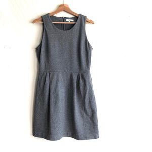 Madewell Verse Dress in Heather Gray size 4